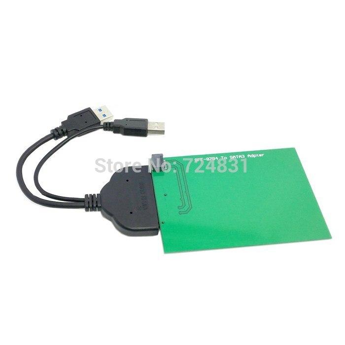 """Chenyang CY USB 3,0 a SATA 22pin 2,5 """"disco duro a WD5000MPCK SFF-8784 SATA Express SSD adaptador"""