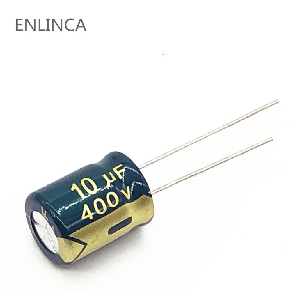 5 ピース ロット 10uf400v 高周波低インピーダンス 400v 10uf アルミ電解コンデンサ S103 20 Electrolytic Capacitors Aluminum Electrolytic Capacitor400v 10uf Aliexpress