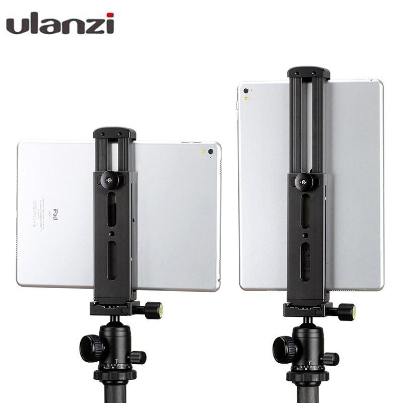 Ulanzi-حامل ثلاثي القوائم من الألومنيوم ، معدن بالكامل ، لجهاز iPad/iPad Pro/iPad Mini Air ، حامل للكمبيوتر اللوحي مع حذاء ساخن