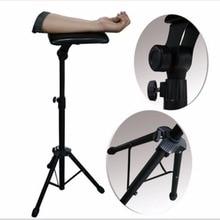 Nouveau 2016 fer tatouage bras jambe repose-pied Portable entièrement réglable chaise pour tatouage Studio travail approvisionnement lit tabouret 65-125cm