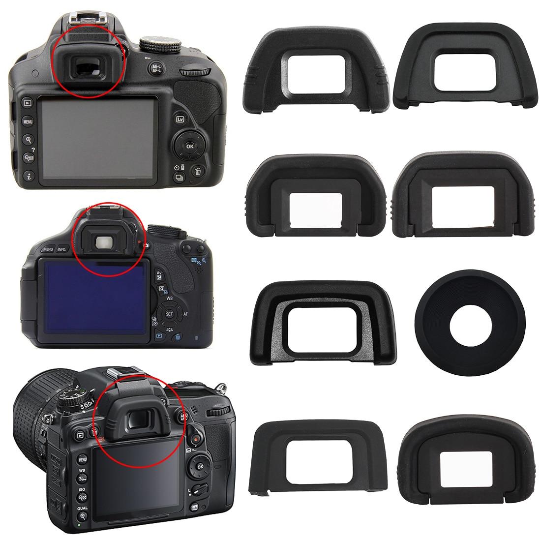 DK-19 DK-20 DK-21 DK-23 DK-24 DK-25 EF EB por ejemplo CE copa para ojo de goma ocular Eyecup para Nikon Canon cámara SLR