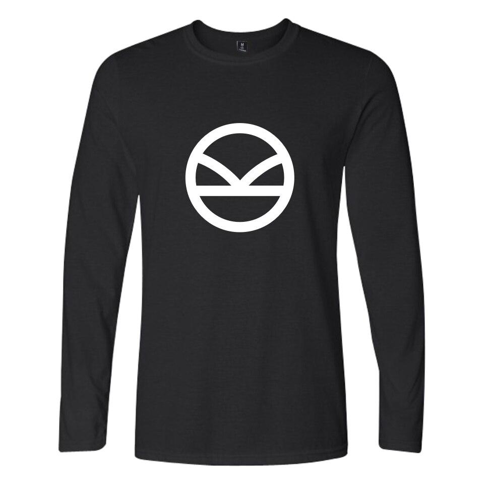 BTS Kingsman Tshirt Longo Da Luva Dos Homens de Outono T Shirt Homens Engraçado Moda Casual T Shirt Dos Homens do Algodão