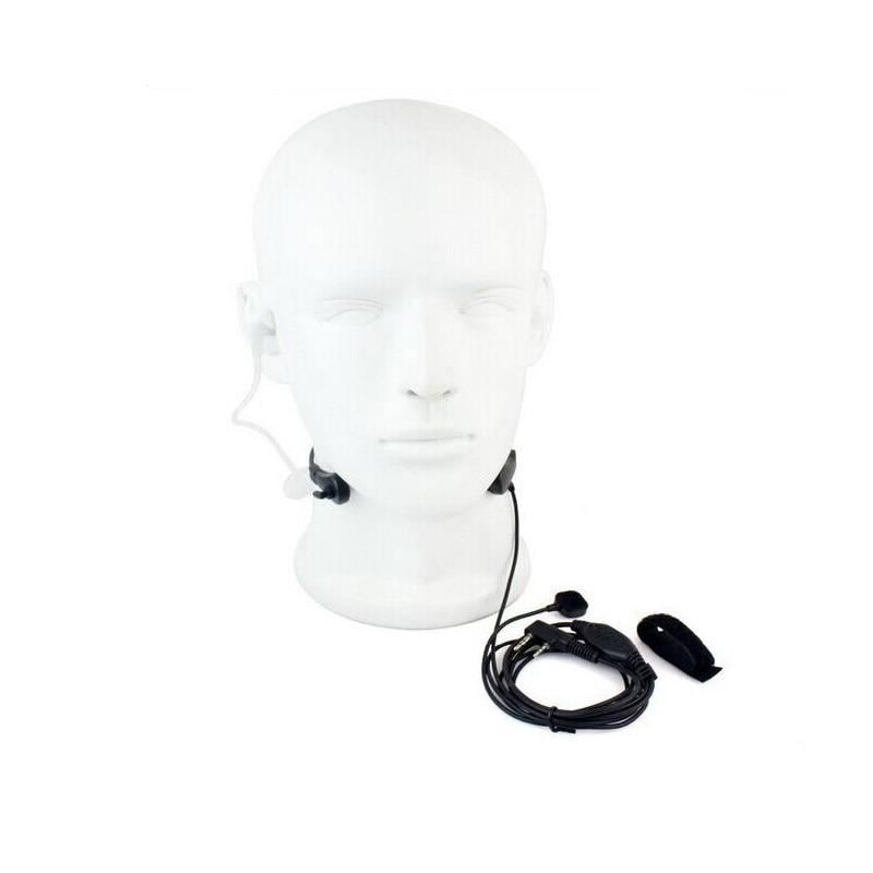 2 контакт PPT baofeng гарнитура горло микрофон для uv 5r baofeng uv-5r BF-888S Kenwood аксессуары радио рация Talkie горло микрофон