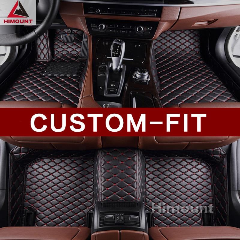 Car floor mats for Toyota Camry Avalon Corolla Prius RAV4 Highlander Land cruiser 100 200 Prado 120 150 Sienna Hilux Fortuner