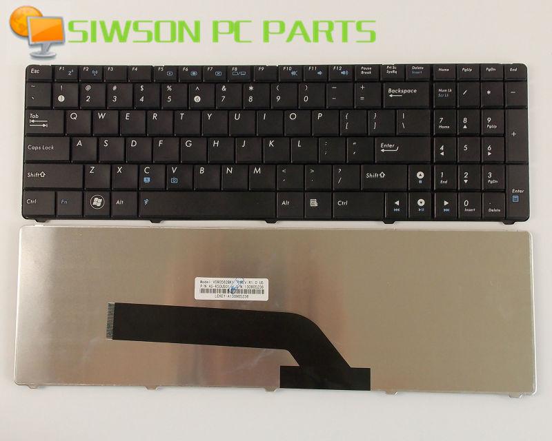 New Genuine Keyboard US Version For ASUS K70A K70AD K70IC K70AB K70IO K70IJ K70TY X5DIJ X5DC Laptop