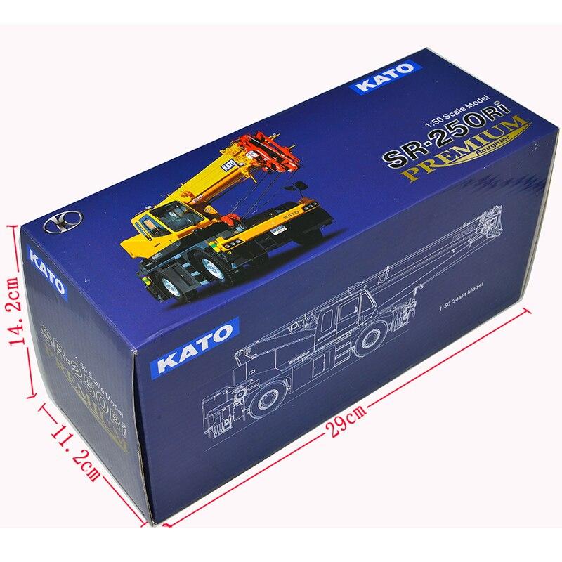 Коллекционная модель из сплава, подарок 1:50, KATO, премиум, рельсовая местность, внедорожный кран, Инженерная техника, литая Игрушечная модель