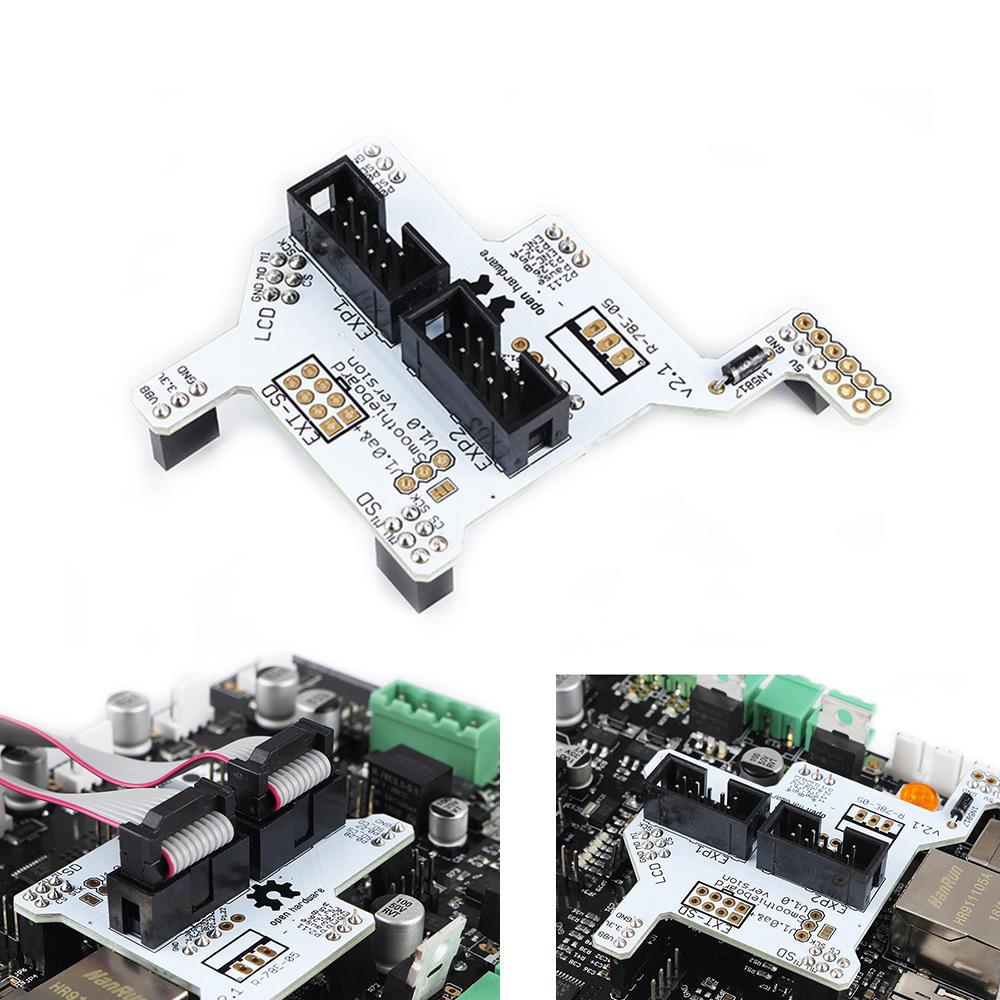 Smootieboard 5X V1.1 полный графический ЖК-адаптер Plug And Play модуль Плата для 3D принтера smootieboard умный контроллер части