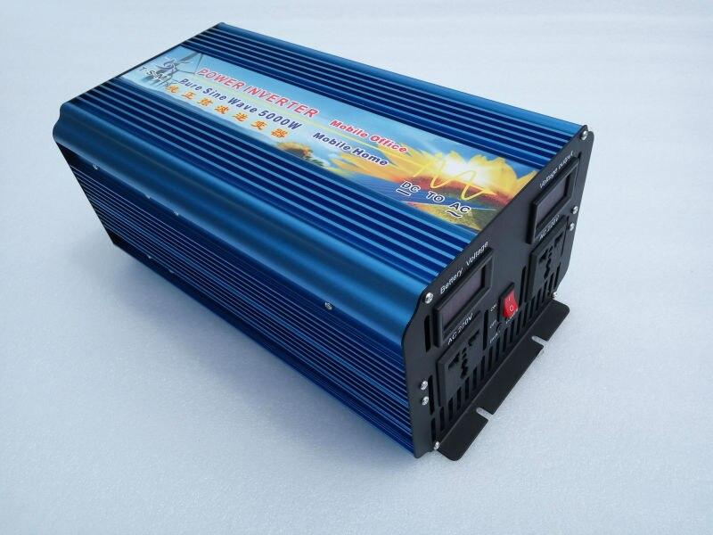 Onde sinusoIdale puro onduleur solaire pico de potencia 10000 W inversor Solar 5000 W inversor de potencia de onda sinusoidal pura DC 12 V a 230 V AC