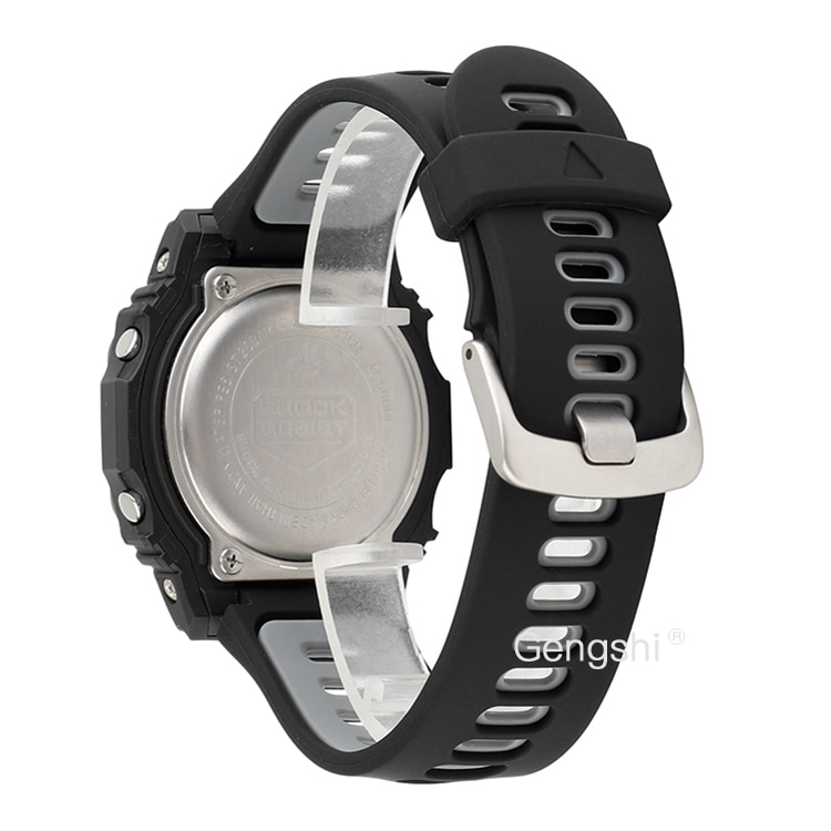16mm banda de reloj de silicona correa de ajuste para Casio G Shock AW-590 591 AWG-M100A M100B AWG-M100 G-7700 AWG-100 AWG-101