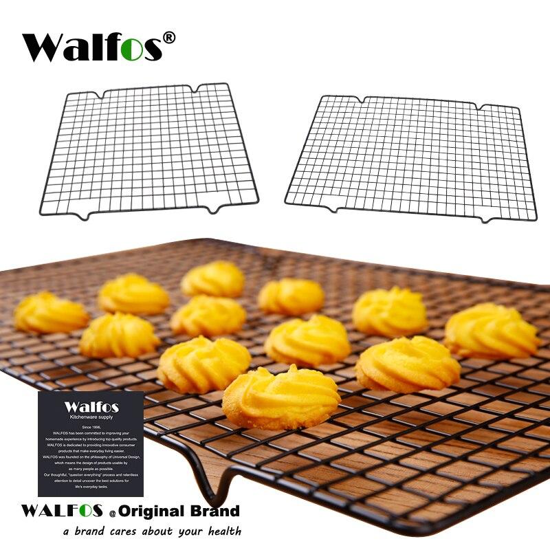 Антипригарная охлаждающая стойка WALFOS, охлаждающая решетка, лоток для выпечки печенья, печенья, Пирогов, хлеба, тортов, лидер продаж