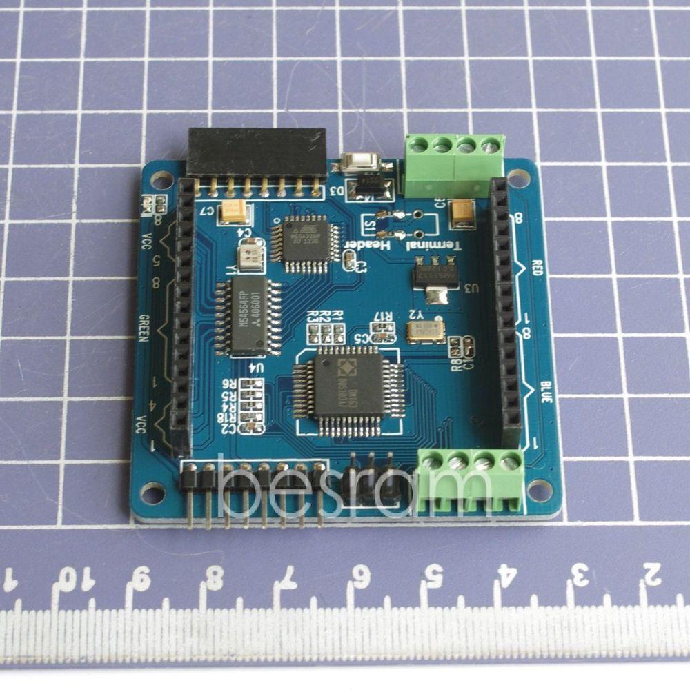 Arduino RGB LED bouclier déclairage Colorduino pour 8*8mm dépaisseur UART IIC fai