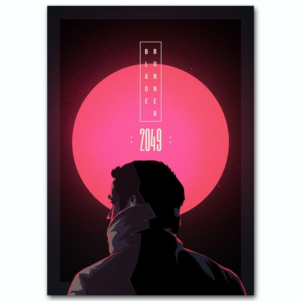 Blade Runner 2049 Silk Poster clásico decoración pared película impresión 13x18 24x32 pulgadas decoración cuadros Decoración Para sala de estar 006