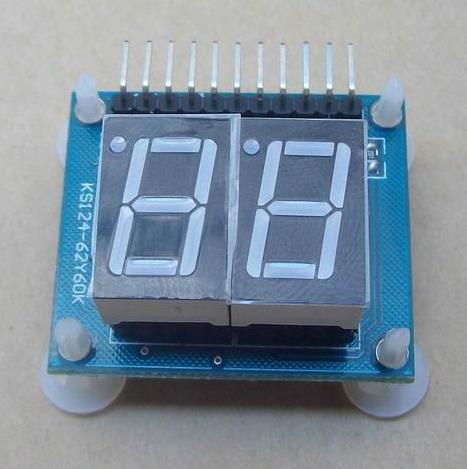 ¡Envío Gratis! 1pc dos bits digital Módulo de pantalla para tubos/Esquema de ilustraciones de proceso