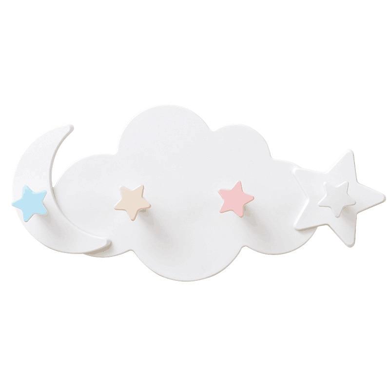 Creativ drăguț în formă de nor, lună și soare fără cârlige - Organizarea și depozitarea în casă - Fotografie 4