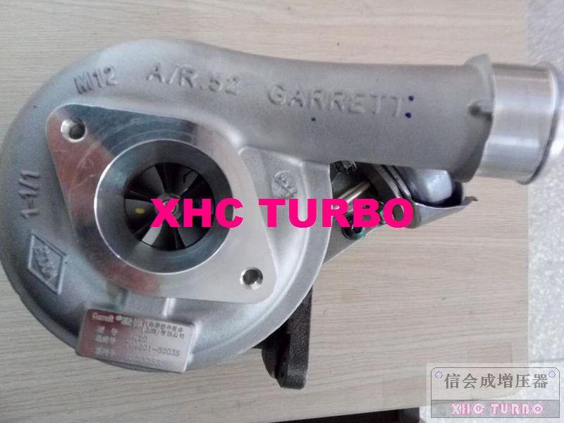 Nuevo turbocompresor genuino GT2052 794901-0003 XAN3-6K682-AC para Jiangling tránsito JMC JX4D24A4H 2.4L 90KW Euro IV
