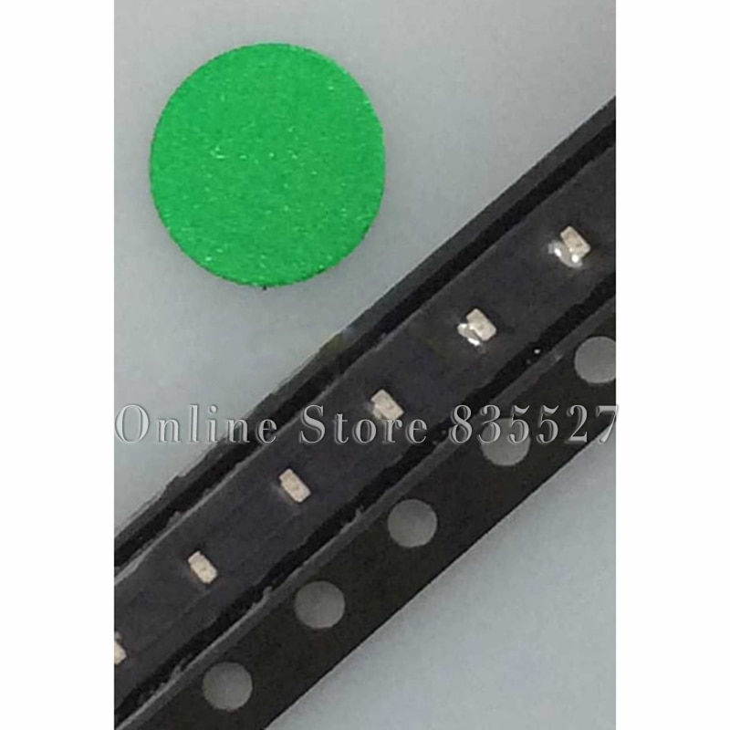 1000 шт./лот LED 0402/1005 SMD световые бусины Ярко-изумрудно-зеленый светодиод