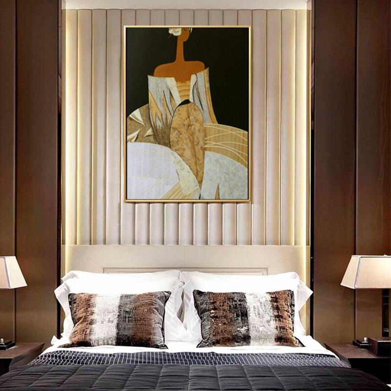 Os desenhos animados de atenas deusa pintura da lona moderno posters e cópias da parede quadros a óleo para sala estar casa decorativa