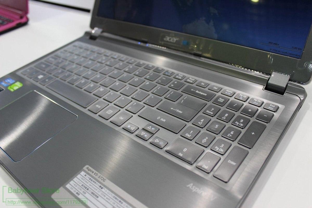 Para Acer Aspire V5-552 V5-552P V5-552Pg V5-552 V5-552 V5-552P-8483 Vn7-571G teclado cubierta de Protector de la piel Ultra delgada de Tpu