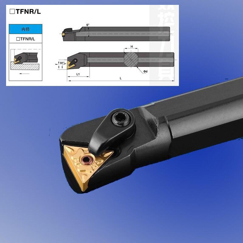 Envío Gratis interna de la herramienta de torneado S16Q-MTFNR16 insertar TNMG1604 S18 S20 S25 S32 S40