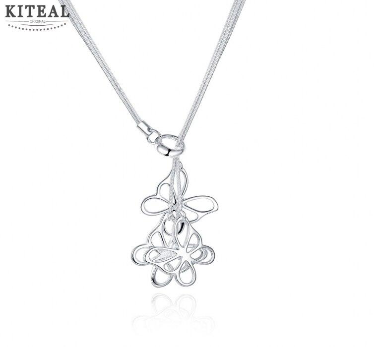 Fabrika fiyat en kaliteli 925 ayar gümüş takı kolye moda sevimli kolye kelebek kolye sıcak satış SMTN043