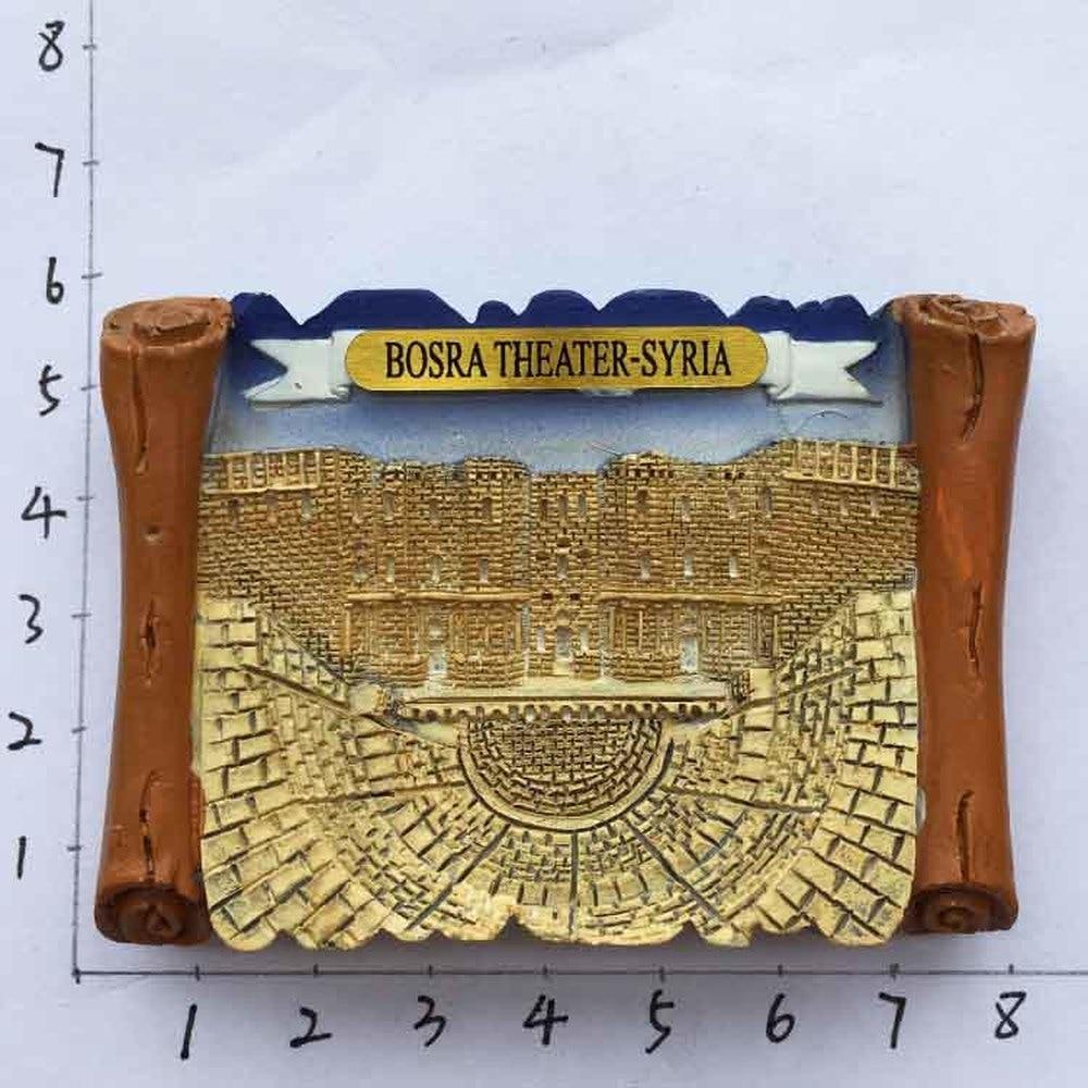 Бабелеми Ближний Восток Сирия древний город босра театр декоративные сувениры на холодильник-магниты