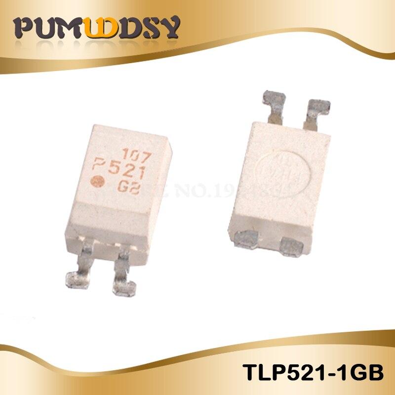 10 unids/lote TLP521-1GB SOP4 TLP521-1 SOP TLP521 P521-GB P521 SMD nuevo y original IC
