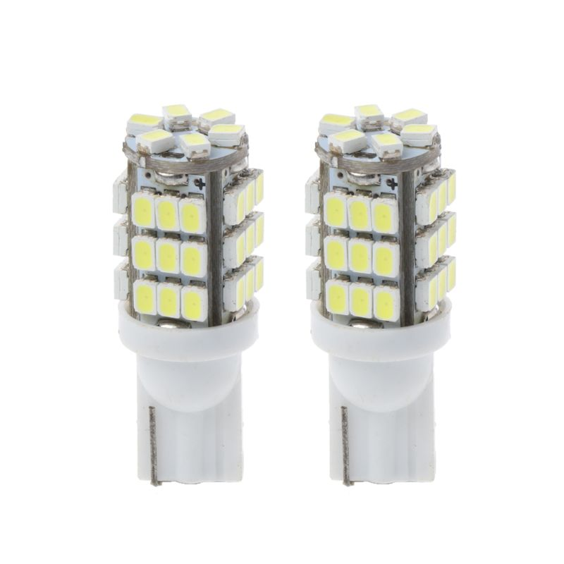 2 uds LED para matrícula de coche luces T10 W5W 168 194 SMD 3020 de carga/lámpara del tronco