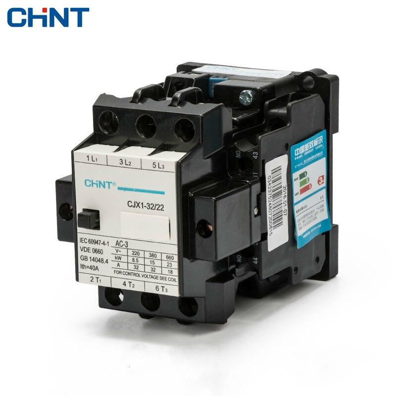 CHINT Kommunikation CJX1-32/22 3TB44 AC Schütze Power Elektrische 380 v 220 v 110 v 36 v 24 v motor Spule