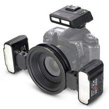 Вспышка Meike MK-MT24 Macro Twin Lite для Canon DSLR Camera 70D 60D 760D 750D 550D 1100D 1200D EOS M/M2/M3