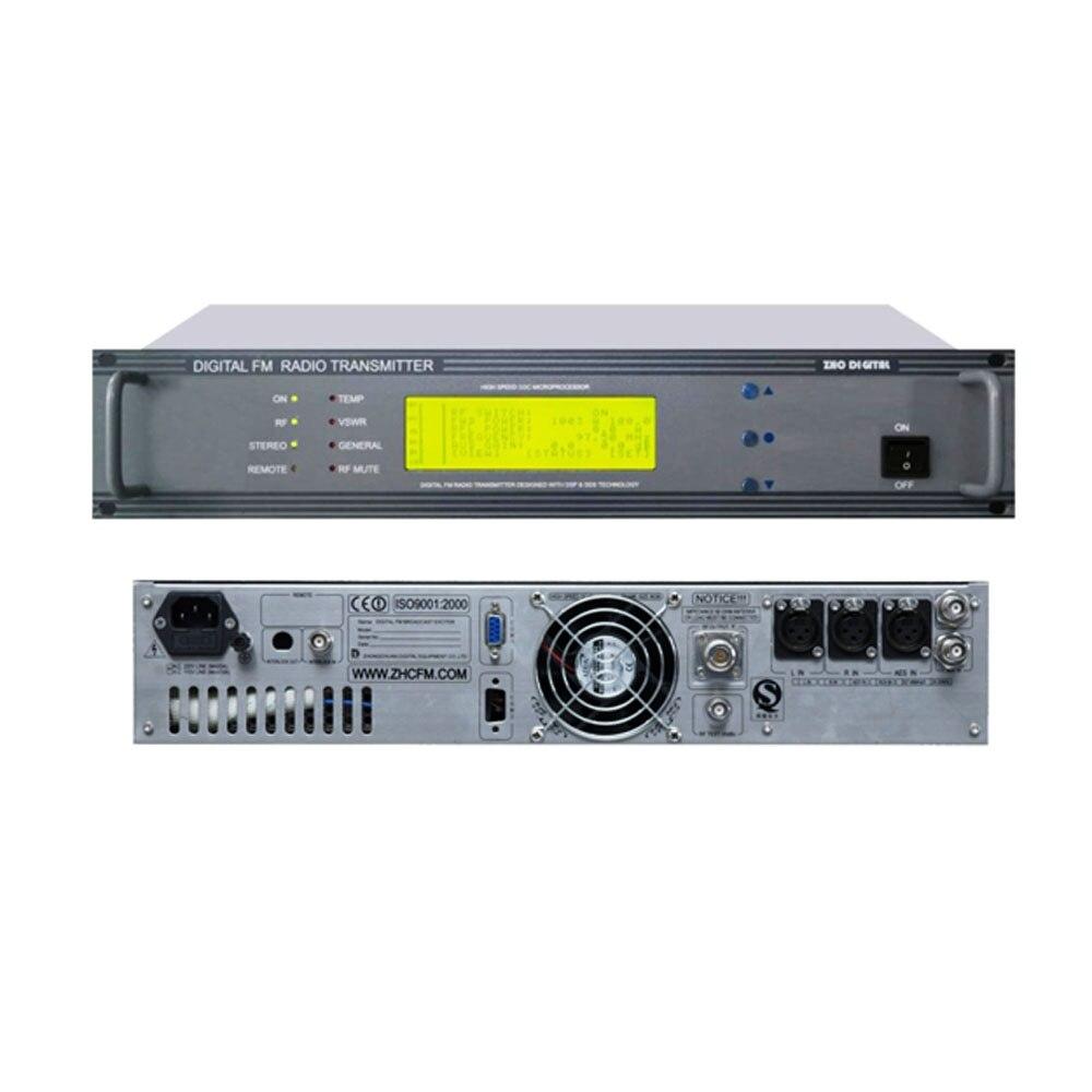 ZHC618F-300W transmisor de radio FM de 300 vatios, emisora de radio FM profesional
