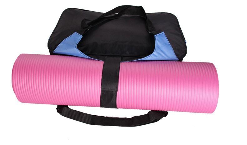 Mata yoga bag wodoodporny plecak na ramię messenger torba sportowa dla kobiet fitness ubrania siłownia duffel torba (nie yoga mat) 5