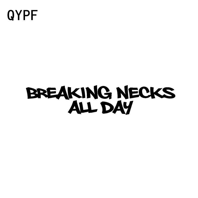 QYPF 17,5 CM * 3,5 CM Fish Breaking Necks todo el día...