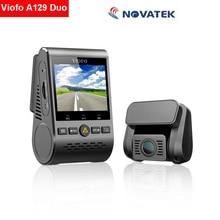 Orijinal Viofo A129 Duo çift kanal HD 1080P WiFi g-sensor Dash kamera araba kam video kaydedici F1.6 gece görüş GPS