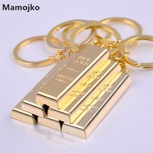 Mamojko คุณภาพดี Golden Key Chain โลหะ Charm กระเป๋าถือจี้ Keyring รถแฟชั่นกระเป๋า Buckle อุปกรณ์เสริม