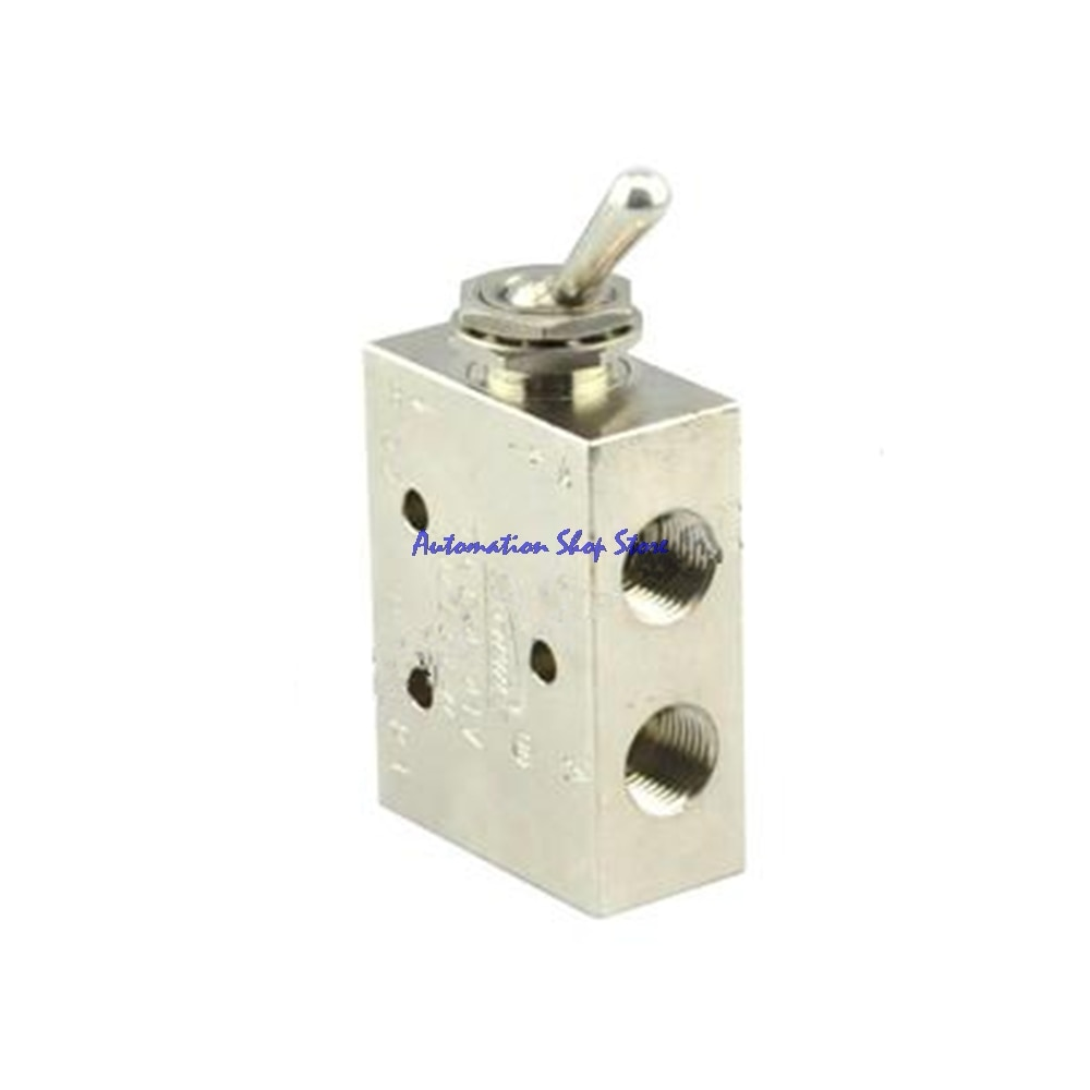 TAC2-41V de rosca de válvula neumática de 2 posiciones válvula neumática de aire mecánica rectangular de 5 vías