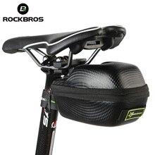 ROCKBROS Road Bike Saddle Bag MTB Mountain Bicycle Seat post Bag Cycling bicicleta Waterproof Seat Tail Pouch Rear Package Black
