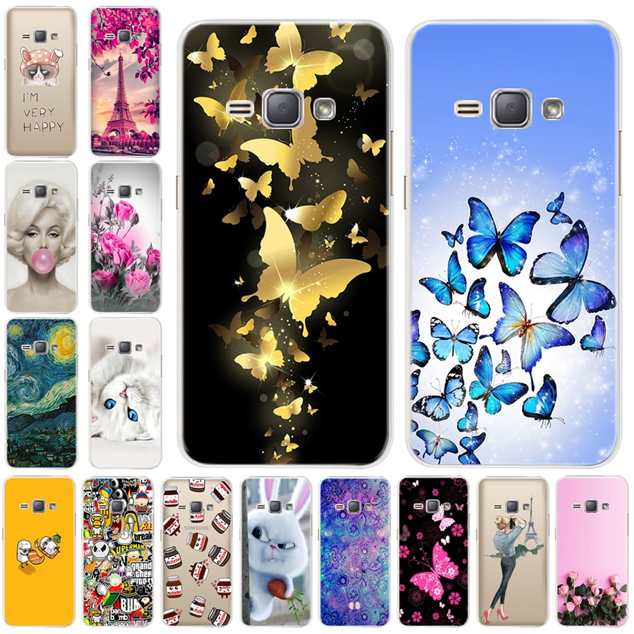 Telefon Fall Für Samsung Galaxy j1 2016 Silikon Stern Cartoon Für Samsung J1 2016 Fall Abdeckung Für Samsung J1 2016 j120F sm-j120f