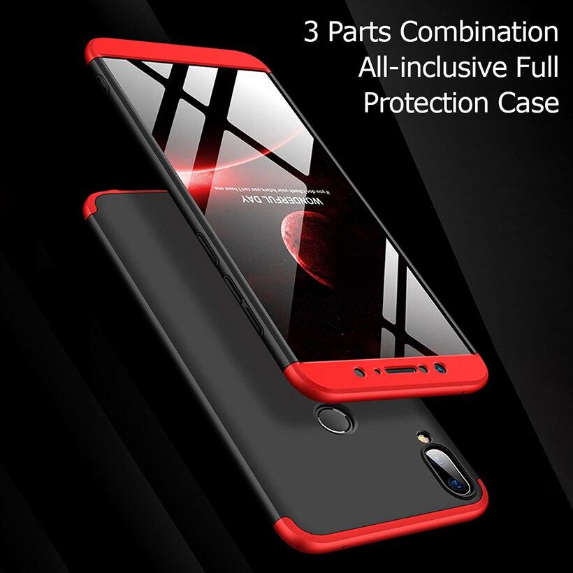 Para ASUS ZenFone Max Pro M1 funda ZB602KL teléfono parachoques ZB601KL duro 360 cubierta completa para Asus Zenfone Max Pro M2 fundas ZB631KL