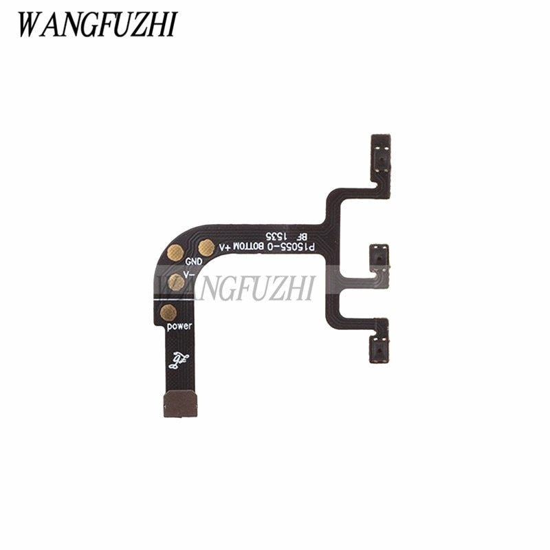 WANGFUZHI Original for OnePlus X Power + Volume Button Flex Cable Replacement Repair Part