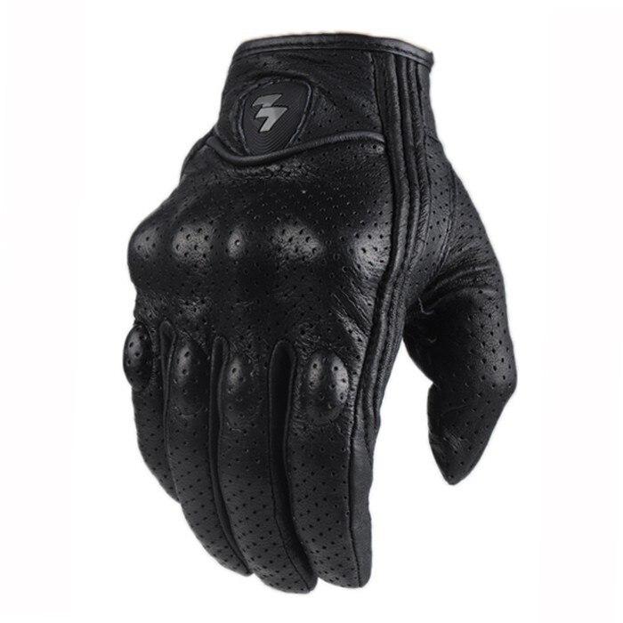 Militar de combate táctico guante de paintball al aire libre de caza, de deporte motocicleta de carreras de bicicleta ciclismo guantes dedo completo de cuero genuino
