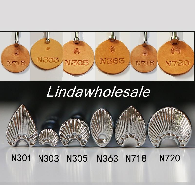 Sello de cuero japonés, herramientas de impresión de cuero N718/N303/N301/N305/N363 /N720,
