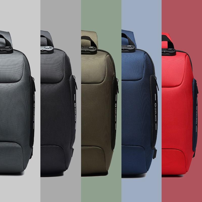 OZUKO 2021 New Multifunction Crossbody Bag for Men Anti-theft Shoulder Messenger Bags Male Waterproof Short Trip Chest Bag Pack