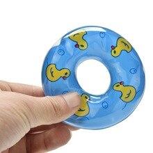 5 Pcs Baby Speelgoed Pop Zwemmen Boei Reddingsboei voor pop s Kleur willekeurig best gift Blue
