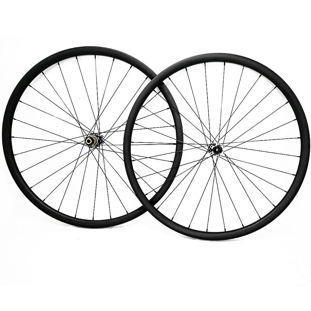 Ruedas de bicicleta de montaña 29er carbono 30mm asymr 411SB/412SB ultraligero 1360g MTB ruedas de disco de bicicleta UD mate sin tubo 1420 radios
