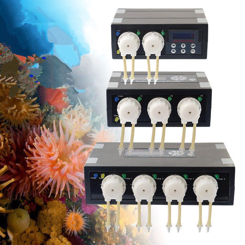 저렴한 JEBAO DP2 DP3 DP4 DP-2 DP-3 DP-4 DP3S DP4S DP-3S DP-4S 자동 투약 펌프-해양 암초 수족관을위한 자동 도저