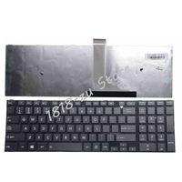 English Keyboard for Toshiba Satellite C50 C50D C50-A C50-A506 C50D-A C55 C55T C55D C55-A C55D-A US Keyboard with frame black