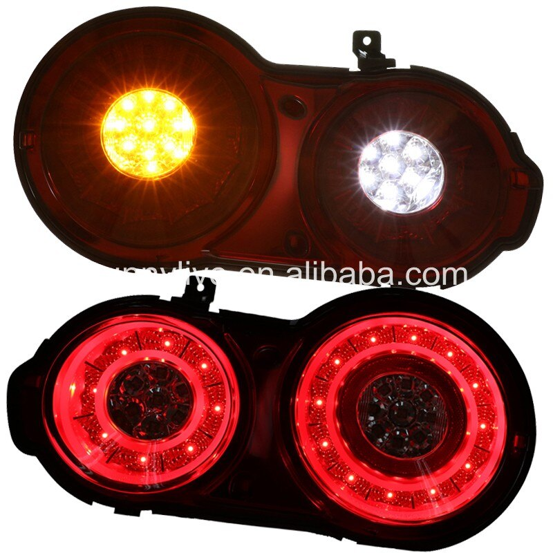 Voor NISSAN GTR R35 LED Achterlicht GT-R R5 2007-UP rode SN