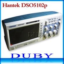 Hantek Dso5102p عاكس ذبذبات تخزين رقمي 100mhz 2 قنوات 1gsa/s 7 ''Tft Lcd أفضل من Ads1102cal +