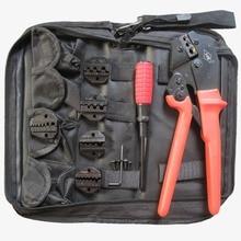 7 in 1 hand tool set crimping tool kits terminal crimping pliers with screwdriver 5pcs crimping jaws dies AP-K30J-4