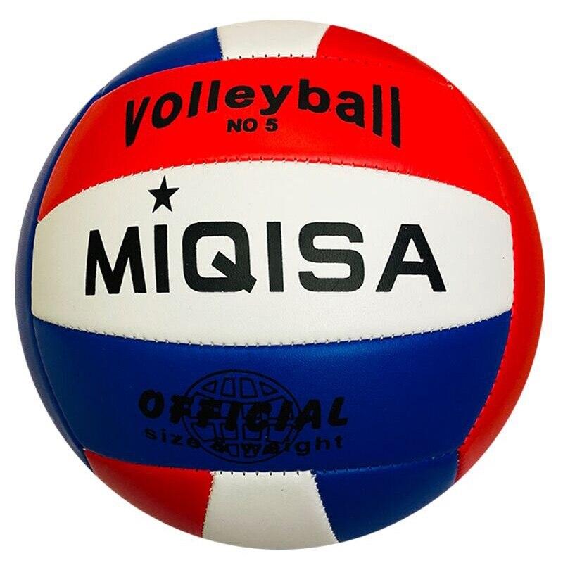 Marca de pelota de Voleibol de tamaño oficial 5 para interiores, pelota de Voleibol de entrenamiento suave cosida a máquina, pelota de espuma de competición, pelota de Voleibol